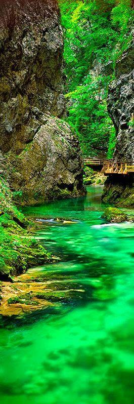 Vintgar Gorge near Bled in northwestern Slovenia - Holiday$pots4u