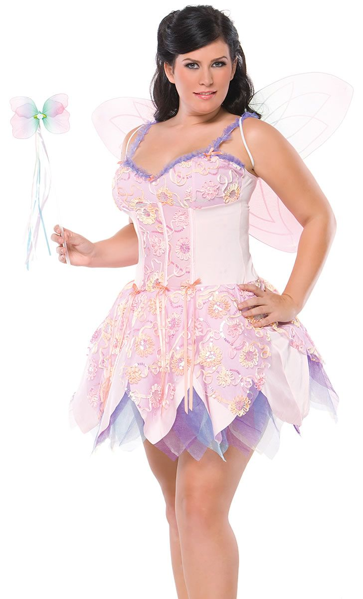 Fantasy Fairy Plus Costume