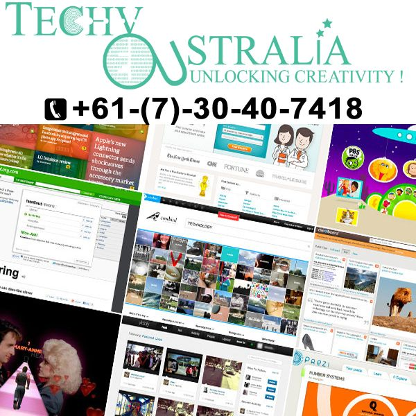 Website development company  in Techy Australia +61-(7)-30-40-7418