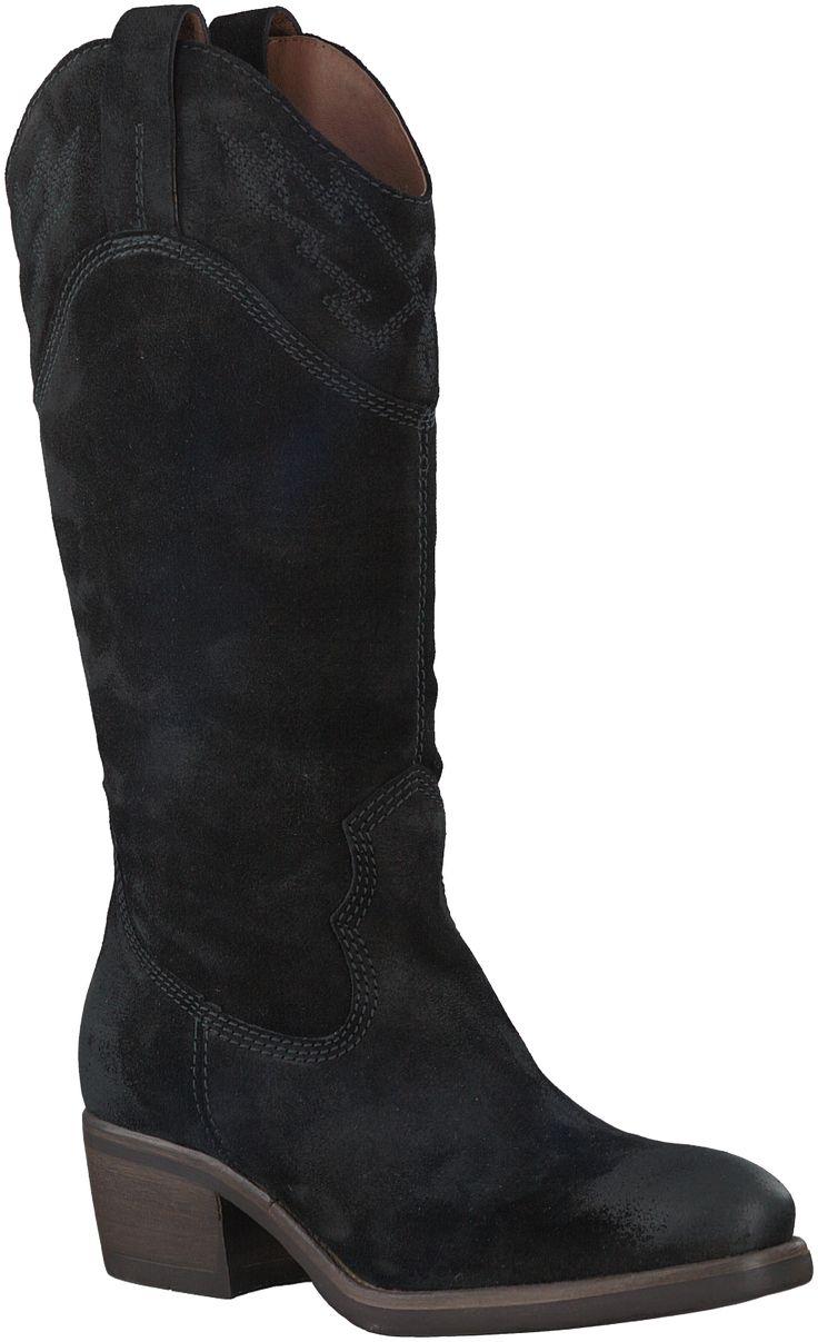 Zwarte Via Vai Korte laarzen 4706118