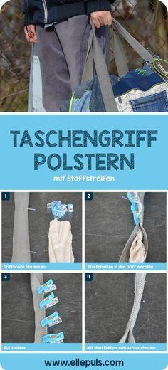 """Dieses Designbeispiel der Reisetasche """"Weekender"""" aus dem Buch Taschenlieblinge selber nähen ist Teil der pattydoo Blogtour."""