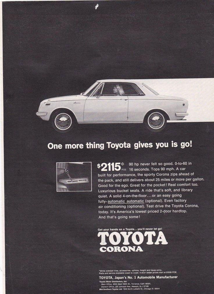 Toyotaclassiccars Toyota Corona Classic Cars Toyota