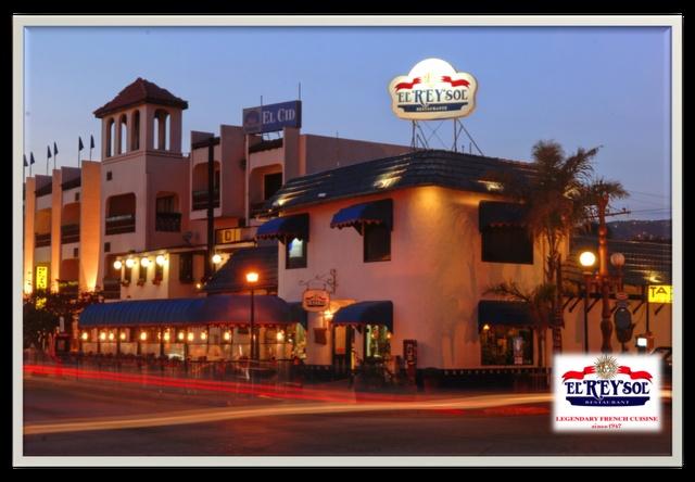El Rey Sol, famoso y mas antiguo restaurante Frances en México. Se encuentra en Ensenada, Baja California, MEXICO  Desde 1947, cumpliendo 65 años este Mayo, 2012