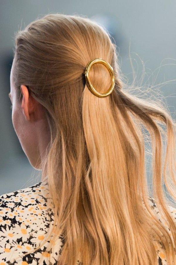 Circle hair clip, Céline SS15...: