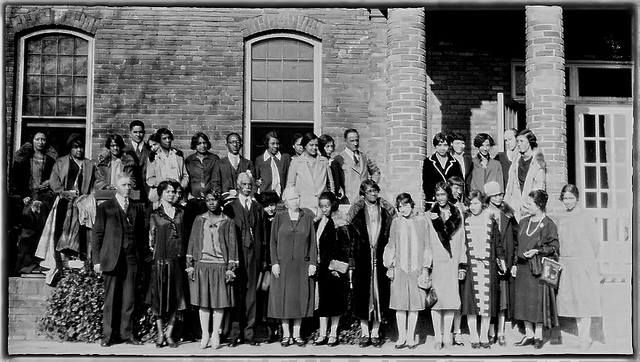 the 1st Negro Library Conference | Library Conference, Hampton Institute - 1927 Source: Little Known Black Librarian Facts