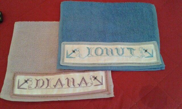 Asciugamani personalisati .