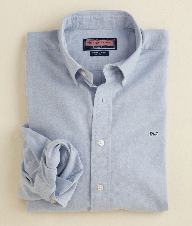 Solid oxford whale shirt for Whale emblem on shirt