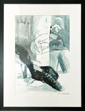 """Saatchi Art Artist Maia S Oprea; Drawing, """"PRAYER - sketch"""" #art #saatchiart @saatchiart"""