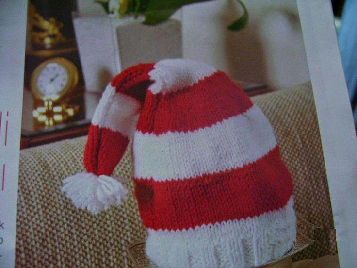 Noel baba şapkası yapımı   Derya Baykal Örgüleri