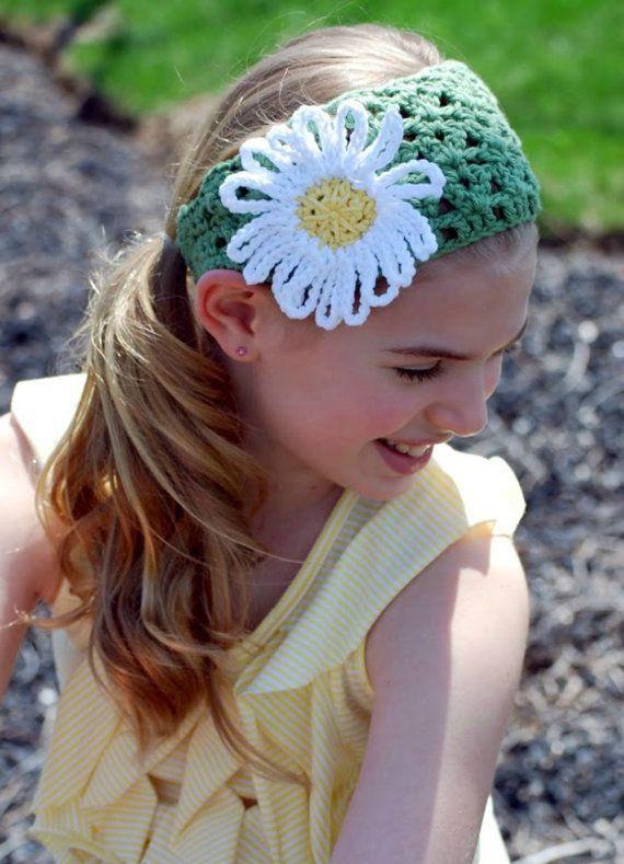 Tween Fashion Green Headband Hair Accessory Summer Headband by foreverandrea,