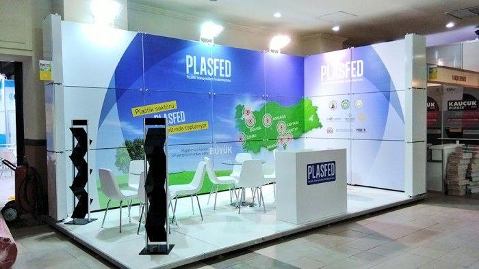 PLASFED- Plast Eurasia2015 İstanbul Exhibition stand.