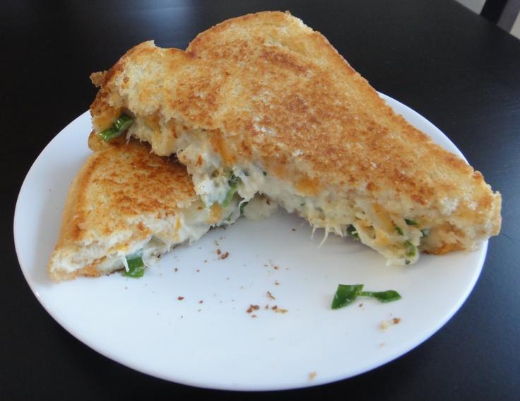 Lobster Grilled Cheese Sandwich - Taken from Joey's Restaurant