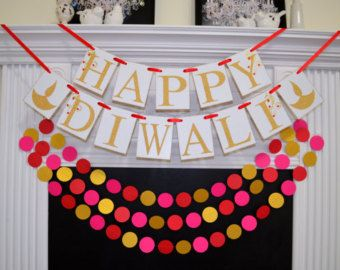 Diwali Banner Happy Diwali Festival of lights by DCBannerDesigns