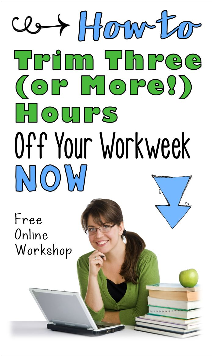 40 hour teacher workweek pdf