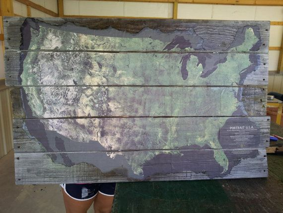 Best Wallpaper Accent Wall Images On Pinterest Apartment - Huge us map