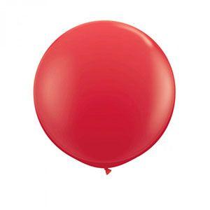 Büyük balon, kırmızı, balon, doğum günü partisi, parti malzemeleri, doğum günü süslemeleri, doğum günü kutlaması