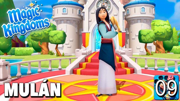 Bienvenida Mulán / Juego Disney Magic Kingdoms - Gameplay