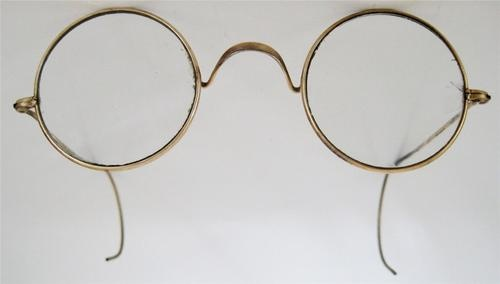 Real Gold Eyeglass Frames : Round eyeglasses, Eyeglasses and Antiques on Pinterest