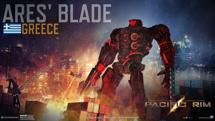 •Pacific Rim - Jaeger: Ares' Blade by IzaakGrey
