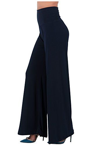 New Trending Pants: KOH KOH Petite Womens Wide Leg Flared Versatile Nice Stretchy Easy Work Trousers Palazzo Yoga Gaucho Elegant Flowy Plain Designer Pants, Color Navy Blue, Size Extra Small XS 2-4. Special Offer: $14.95 amazon.com Our latest gaucho pants boasts effortless style and fashion, but more importantly these pants are extremely comfortable, they can even be worn as yoga pants! Pair these gaucho pants with a crop top for a fun night our or pair it with a solid co