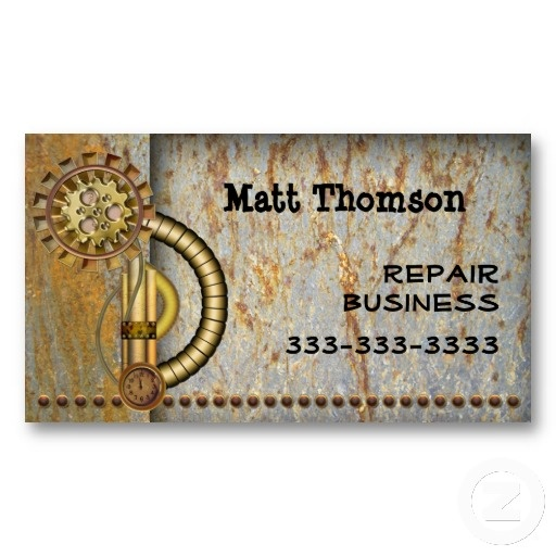 62 best business cards images on pinterest steampunk vintage business card reheart Image collections