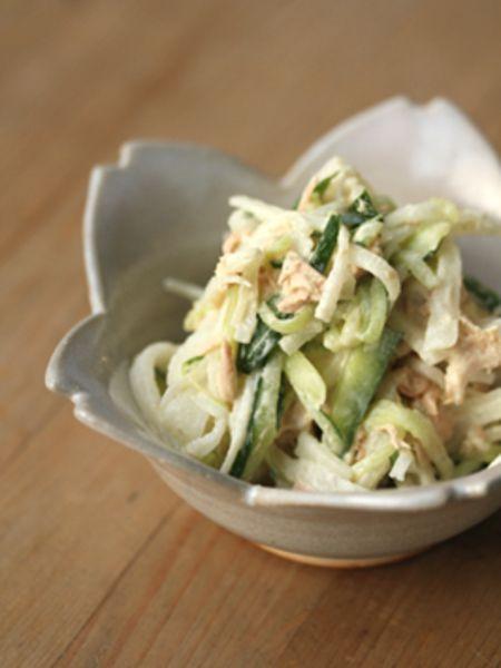 【ツナと野菜たっぷりサラダ】