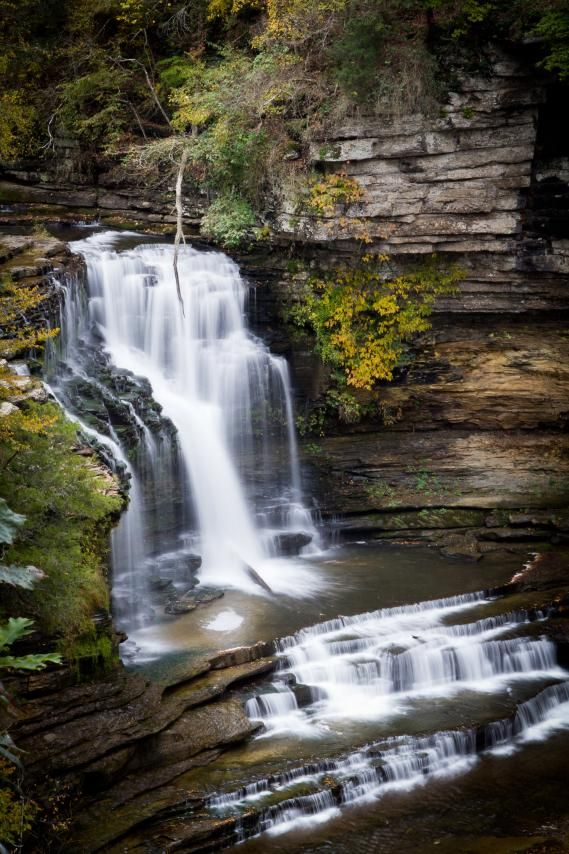 Cummins Falls State Park in Cookeville Tennessee