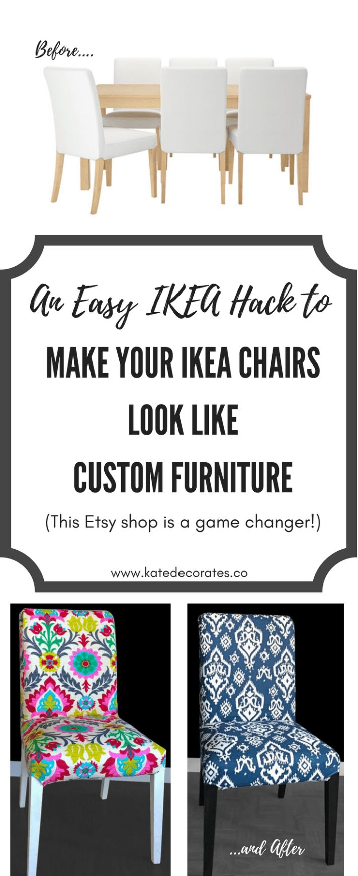Fancy This IKEA Henriksdal Hack Makes Your Affordable Dining Chairs Look Custom