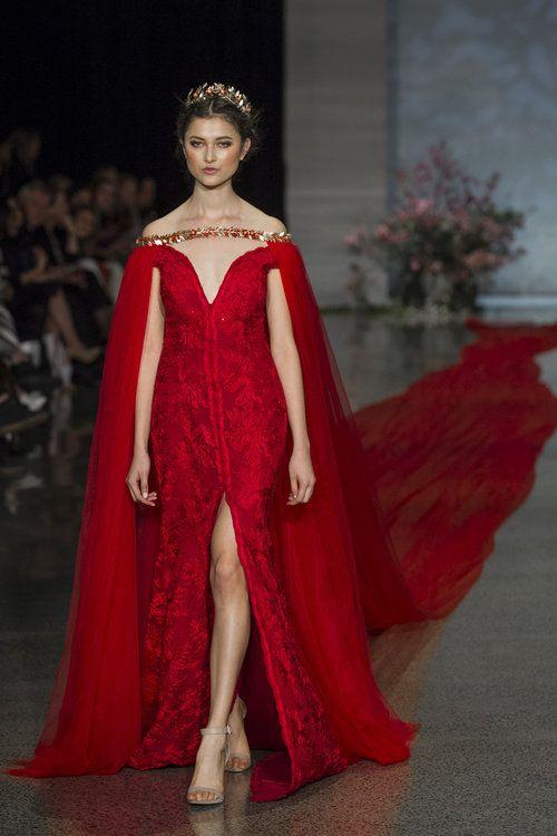 Showstopper red wedding gown by Trish Peng at #nzfw2016 TRISH PENG_PR_PR_0181.jpg