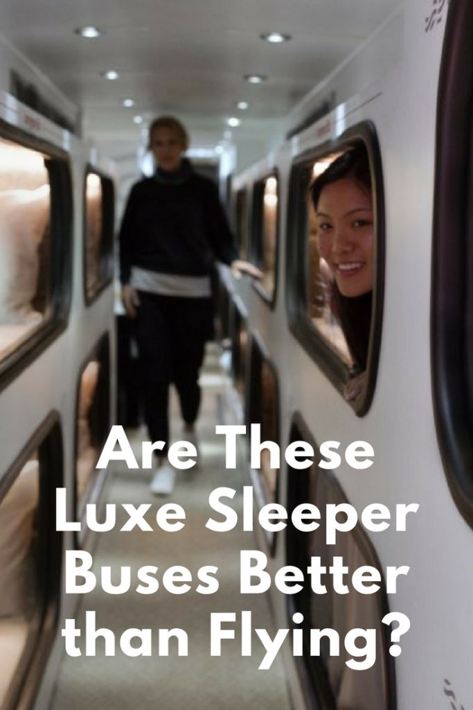 New bus lines operating luxury or lie-flat sleeper buses offer accommodations and services far beyond what Amtrak, airlines, or other bus lines can.