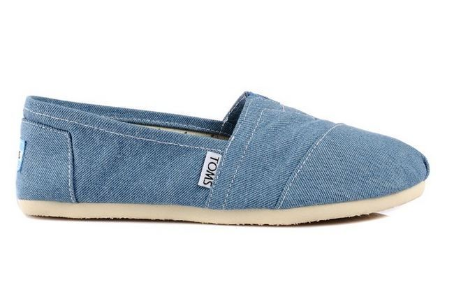 New Arrival Toms women shoes new blue