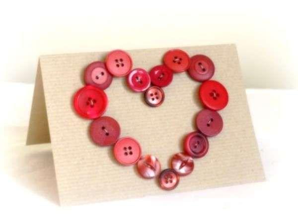 San Valentino: decorazioni fai da te - Biglietto d'amore fai da te