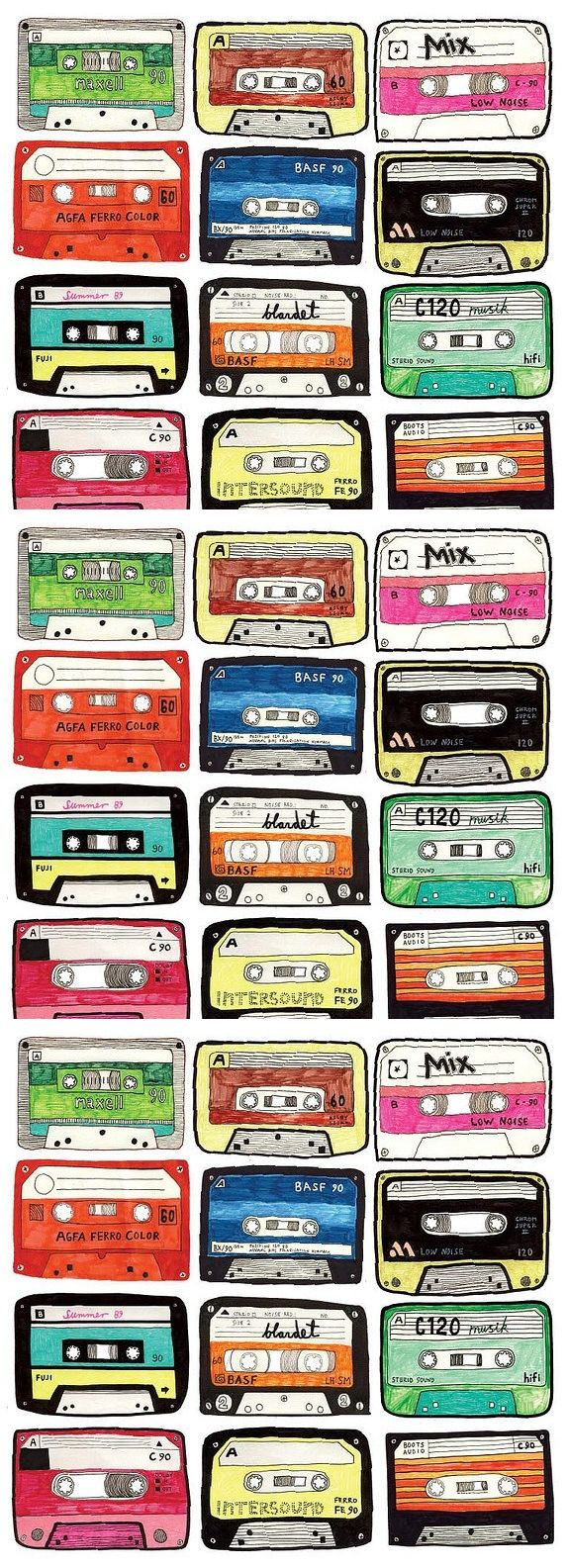 leann gorman .:. remembering your mix tapes