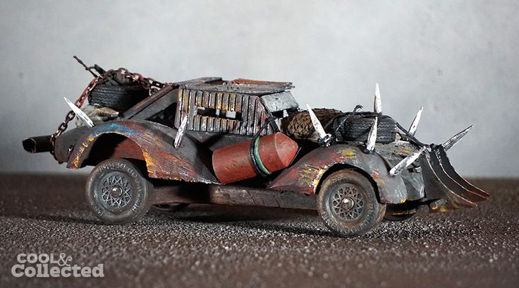 pinewood derby car - mad max theme