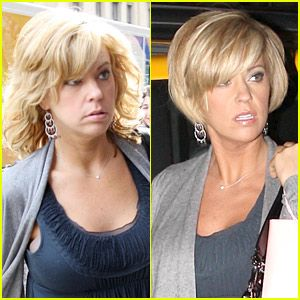 Kate Gosselin's New Haircut: Before and After