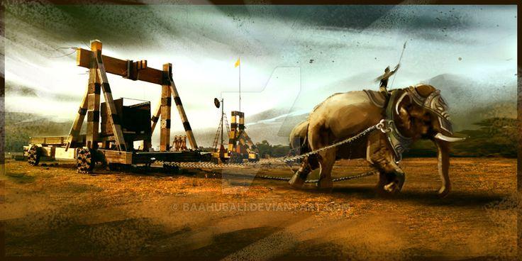 Transporting Catapult by Baahubali.deviantart.com on @DeviantArt