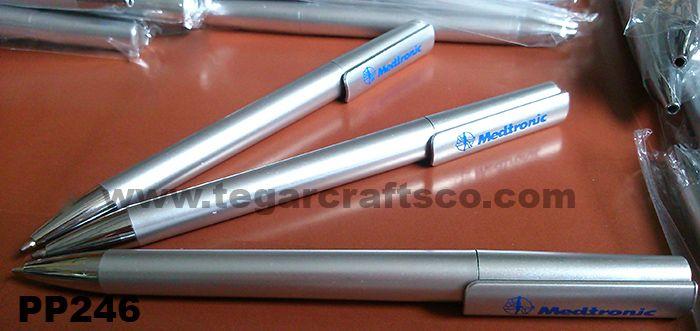 PP246, a silver twist pen