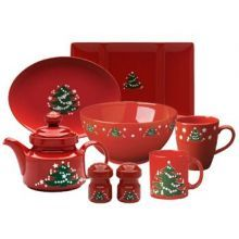 Waechtersbach Christmas Tree dinnerware set. I actually went to the Waechtersbach store when we were  sc 1 st  Pinterest & 8 best images about Collection perfection! on Pinterest | Antiques ...