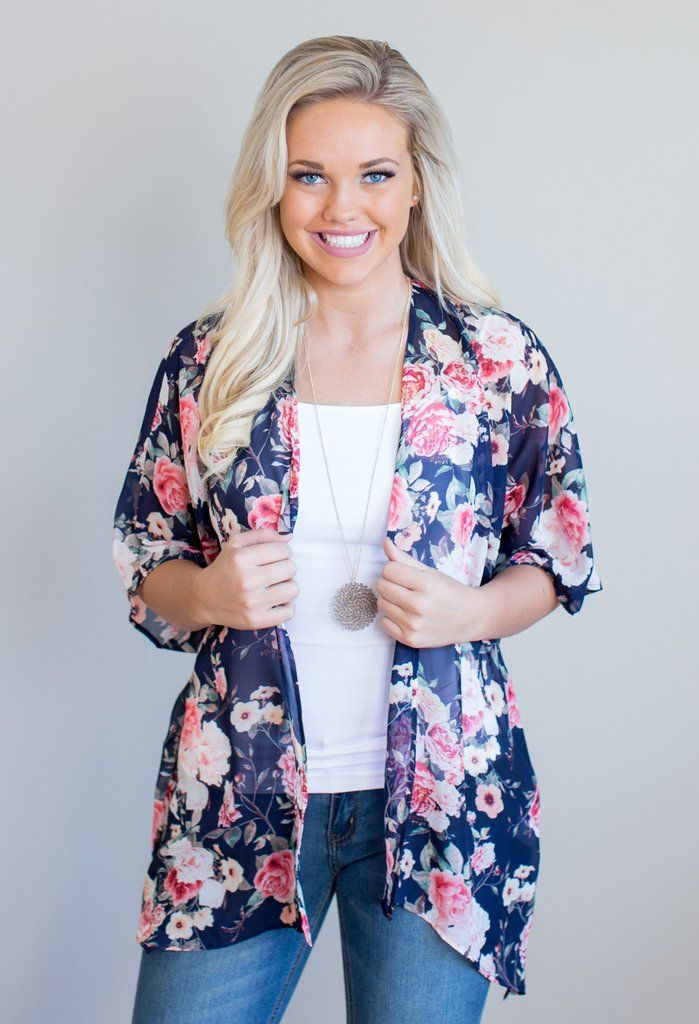 Hilda Floral Kimono