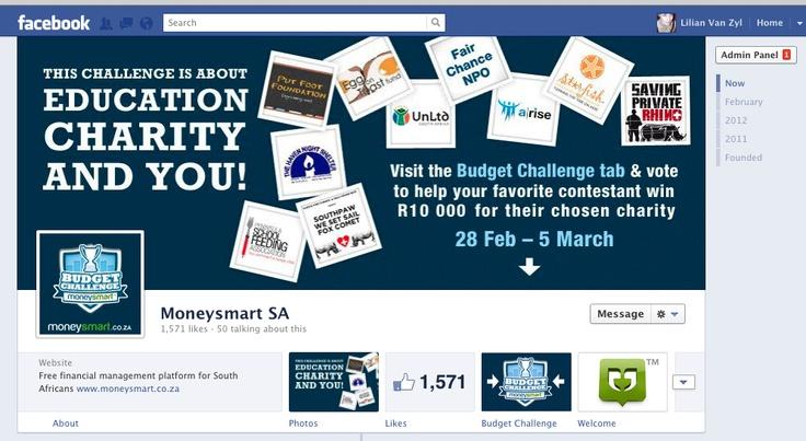 facebook.com/moneysmartsa main picture for Budget Challenge