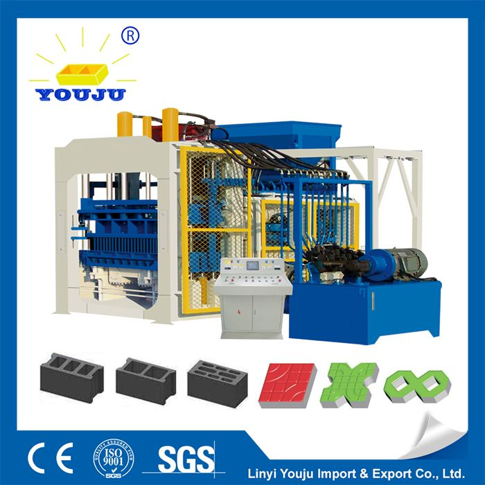 hydraulic stationary concrete block machine paver machine
