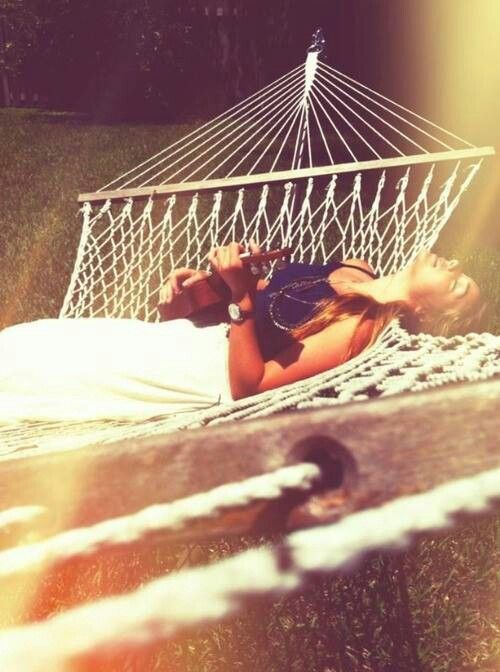 one day, i should rather like a hammock.....so I could sleep in the sun and dream of tall grass....