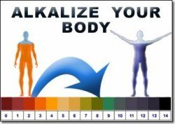 ALKALINE DIET_CANCER DIET_a pinner wrote When I first started to look for an optimal cancer diet I came across a lot of info re acid foods & alkaline foods & the importance of maintaining an alkaline state within the body.The pH scale is a scale that measures how acidic or alkaline a substance is. The scale ranges from 1- 4 w/1 being very acid, 7 neutral &14 very alkaline. My testing strips (brought a a health food store) tested 10+ ! I started on a alkaline diet IMMEDIATELY