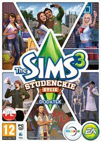 The Sims 3: University Life (PC) okładka
