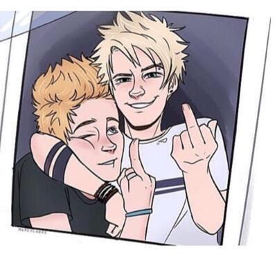 Ash: hey guys put down your middle fingers... That reminds me I used to work at KFC and we used to make chicken with our fingers...