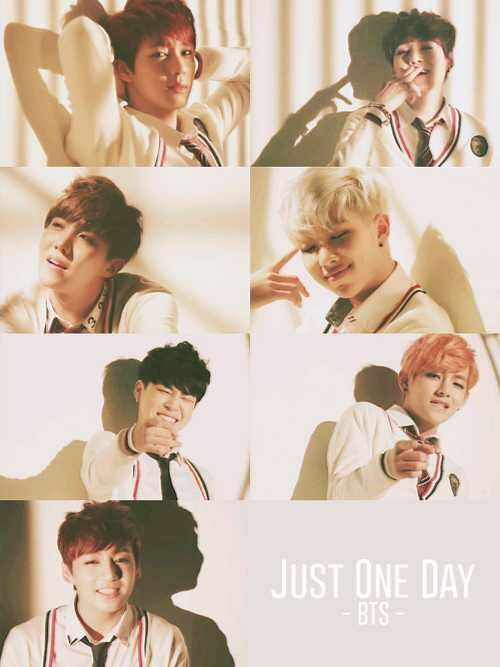 BTS JUST ONE DAY