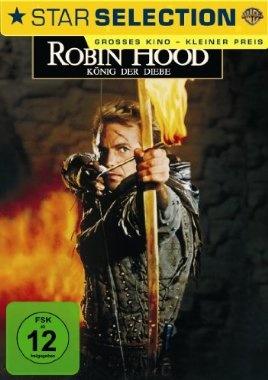 Robin Hood König der Diebe  1991 USA      Jetzt bei Amazon Kaufen Jetzt als Blu-ray oder DVD bei Amazon.de bestellen  IMDB Rating 6,8 (91.043)  Darsteller: Kevin Costner, Morgan Freeman, Mary Elizabeth Mastrantonio, Christian Slater, Alan Rickman,  Genre: Action, Adventure, Drama,  FSK: 12