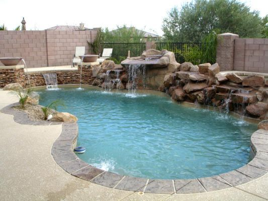 Exotic Swimming Pools With Grottos : The best grotto pool ideas on pinterest dream pools