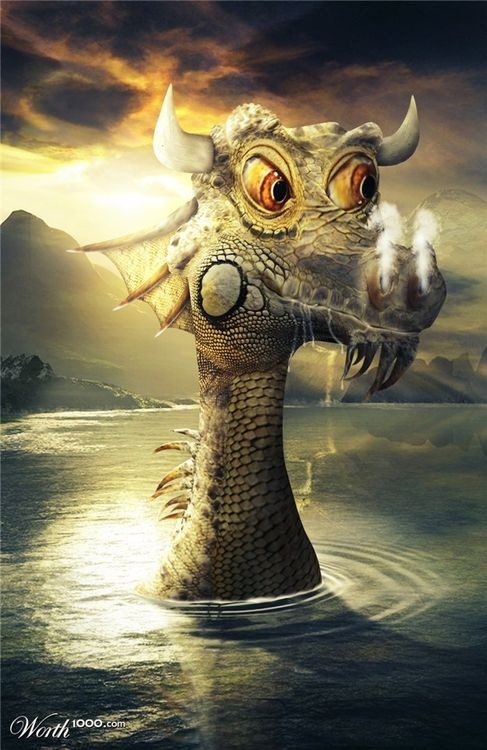 Dragon of the lake - he is from my aunt side, they are all less grumpy than rest of us ;)
