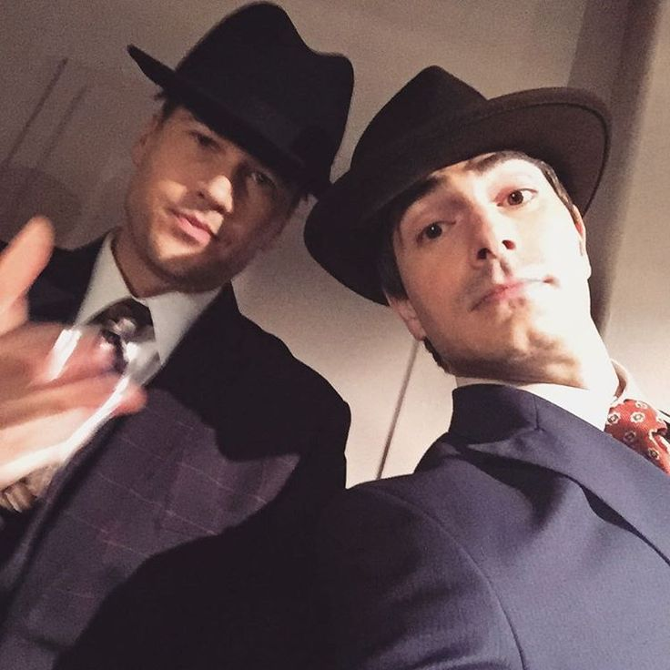 Brandon Routh Instagram with Nick Zano